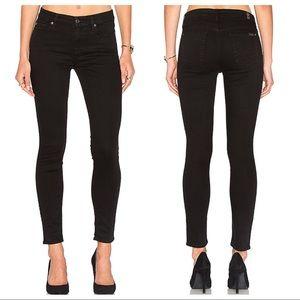 7FAMK Black Skinny Jeans Sz 29 ::KK24